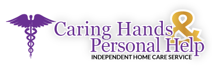 Caring Hands and Personal Help Logo